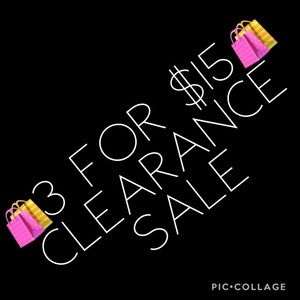 Sweaters - 🛍3 for $15🛍 clearance Sale
